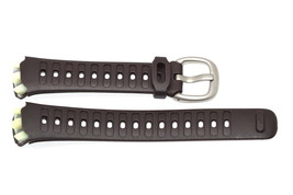 NIKE TRIAX SPEED 10 SUPER CAPPUCCINO REPLACEMENT RUBBER WATCH BAND WR0081 - $14.84
