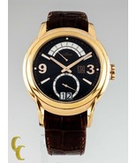 ESQ Swiss Day Retrograde Stainless Steel Men's Watch Brown Leather Band - $329.42