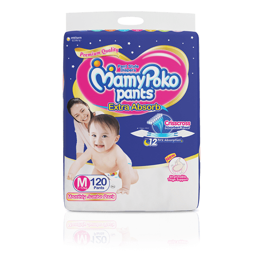 MamyPoko Pants Extra Absorb Diaper Choose from 7 Variants Baby Diapers