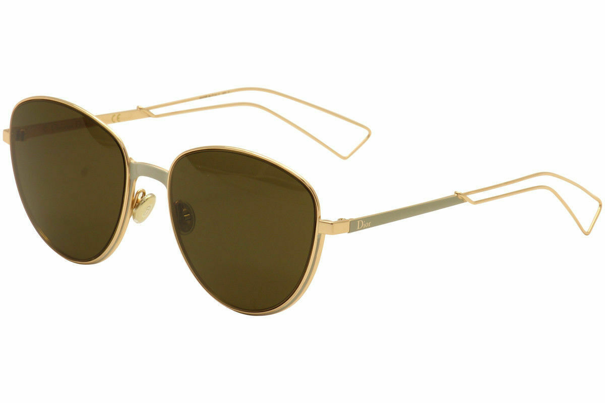NEW Christian Dior Women Ultradior/S RCX/EC Gold/Matte Grey Pilot Sunglasses