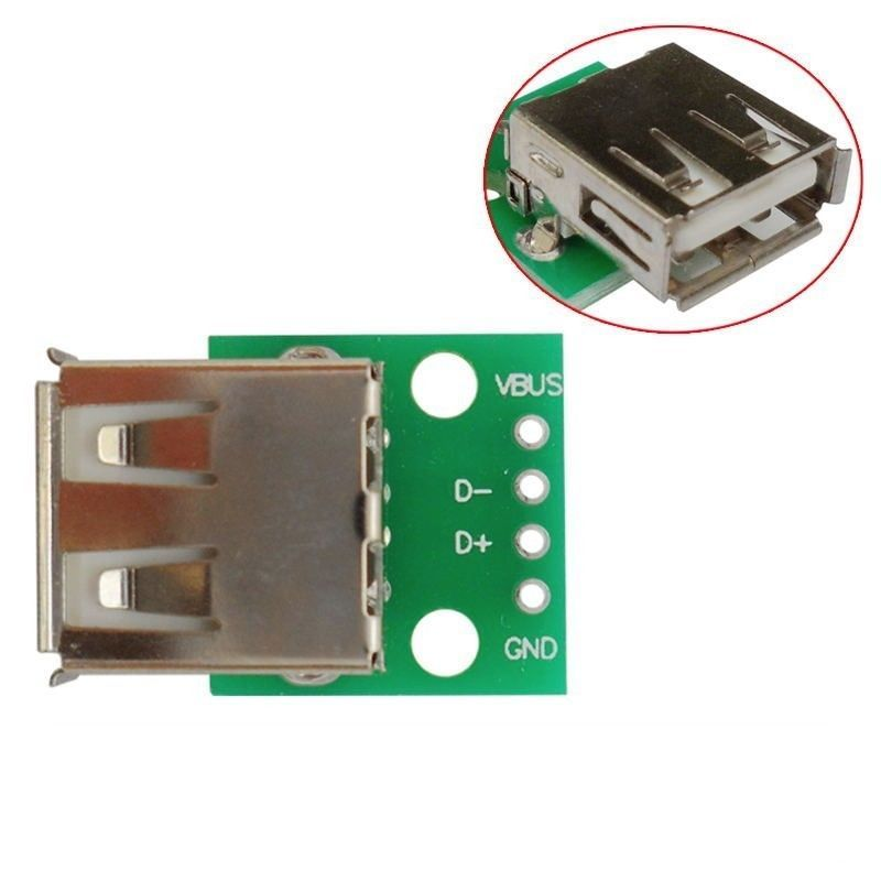 USB-Adapter An Dip 4 Pin Connector pcb-konverter usb-03 Board