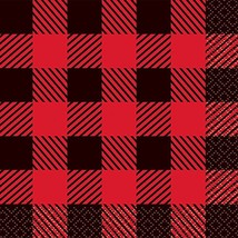 Buffalo Plaid Lumberjack Beverage Napkins, 16ct - $8.43