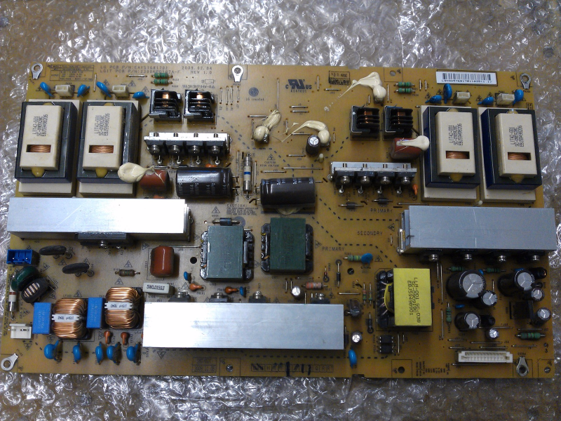 EAY57681701 Power Supply Board From LG 42LH55-UA AUSVLHR LCD TV