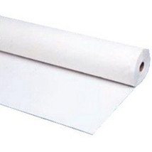 "40""x150 ft Heavy Duty Banquet Roll Plastic Table Cloth - White - $21.77"
