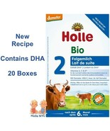 Holle Stage 2 Organic Infant Formula 20 Boxes 600g Free Shipping - $472.95