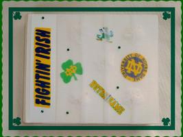 Wedding Album For Special Photos Made with Notre Dame Fabric Pieces ((SA... - $10.00