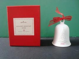 Hallmark 2008 Porcelain Bell with box - $3.99