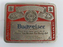 Vintage Budweiser Metal Belt Buckle - $14.84