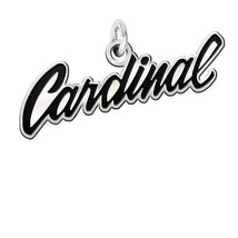 Stanford Cardinal Antique Finish Cutout Charm - $39.00