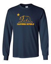 441 California Republic Long Sleeve Shirt bear cali west coast los angeles retro - $18.00+
