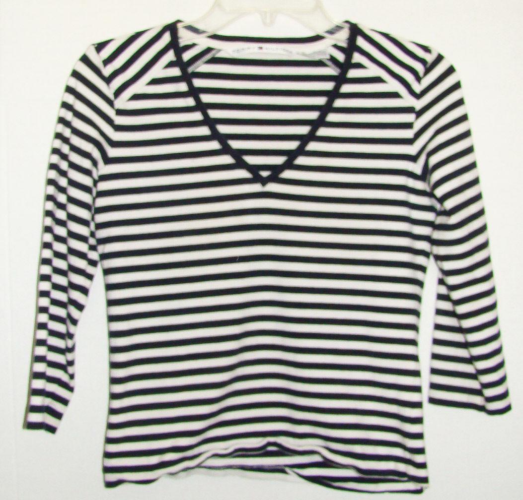 Tommy hilfiger girls long sleeve shirt size medium for Tommy hilfiger shirt size chart