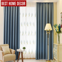 tailor-made modern cloth blackout curtains for window blinds 90% shading... - $51.32