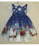 NEW Handmade Daisy Kingdom Twas the Night Christmas Dress Deluxe Custom ... - $99.98