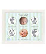 Twin Boys Handprint Footprint Frame - $40.00