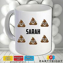 Personalised Poo Emoji Mug Your Name Or Wording • Perfect Gift - $8.81