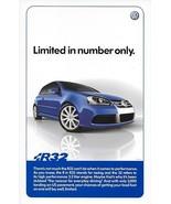 2007 Volkswagen GOLF R32 sales brochure sheet card 07 VW R - $10.00