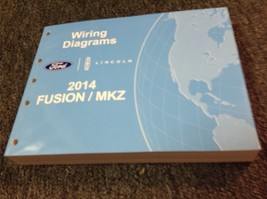 2014 Ford FUSION & Lincoln MKZ Electrical Wiring Diagram Manual EWD OEM ... - $22.72