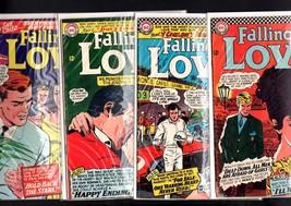 FALLING IN LOVE LOT-#'s 80, 81, 82, 83-DC ROMANCE-MONTE CARLO GRAND PRI ... - $103.06