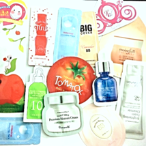 Korean Beauty Samples 60-Piece Foil Packet Sample Bag Innisfree Tonymoly Holika - $70.00