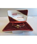 Vintage Gruen VeriThin Ladies Wristwatch 10K Gold Filled Bezel with Case - $112.50