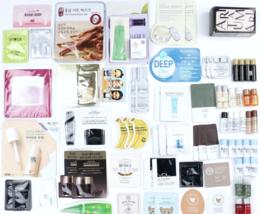 50-Piece Korean Skincare Mini Size Trials & Samples Pack Asian Beaut... - $67.15