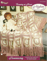 Needlecraft Shop Crochet Pattern 962300 Reminiscing Afghan Collectors Se... - $4.99