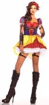 Leg Avenue Rebel Snow White Sexy Halloween Costume Cosplay Dress Headban... - $23.59+
