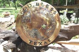 God Bless Texas Plasma cutout sign 0613 - $94.98
