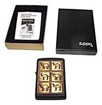 Camel 6 Pack Black  Brass Herd Lighter--MIB - $35.50