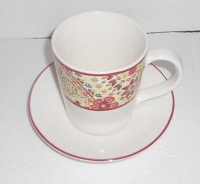 Starbucks Coffee 2007 Paisley Large Coffee Tea Mug Cup And