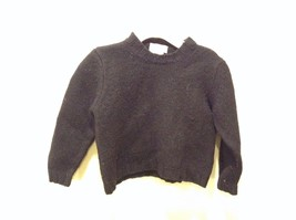 Girls Used Good Condition Best & Company Toddler Size 4 Italian Black Sweater