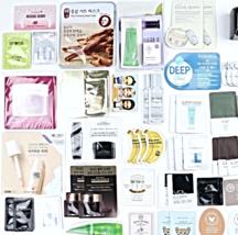 Korean Beauty Samples 60-Piece Foil Packet Sample Bag Innisfree Tonymoly Holika - $74.00