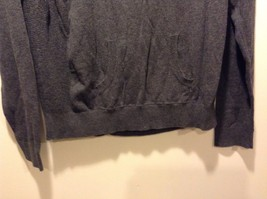 Men's Used Good Condition Chaps Gray Size XL Sweater Long Sleeve 100% Cotton image 2