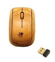 New Style Bamboo Wireless Mouse Mini Office Wireless Mouse - $553,25 MXN