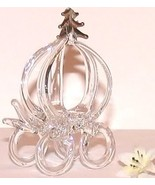 Lot of 6 Glass Coaches Wedding Cake Toppers Fav... - $39.99