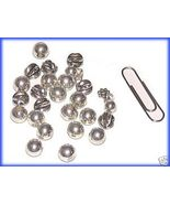 Lot of 160 Assorted Finding Silver Tone Crafts Jewelry - $9.99