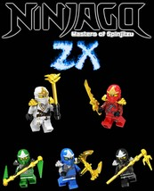 Ninjago ZX Suits Custom 5 Minifigures Set - $12.99