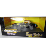 Ertl King Cobra 1:18 NIB Black Diecast Model Car American Muscle Thunder - $67.98