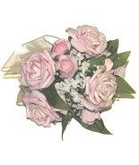 Wedding, Prom, Decor Hand Bouquet Pink & White ... - $24.99