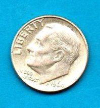 1964 D Roosevelt Silver Dime Moderate Wear - $7.00