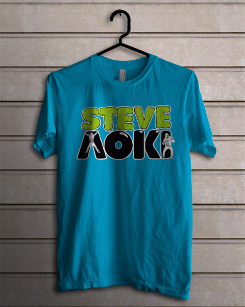 Steve aoki blue