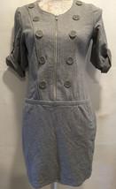 INC International Concepts Petite Women Career Casual Gray Knit Dress Sz... - $19.98