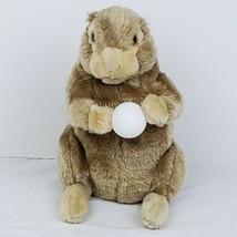 "Caddyshack Gopher Golf Ball Plush Puppet 11"" Stuffed Animal Club Head Cover - $29.99"