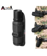 Tactical Molle 360 Degrees Rotatable Flashlight Holster Pouch Holder Wai... - $9.85