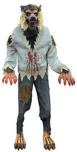 Animated Werewolf Lunging Lifesize 6 Foot Halloween Prop - €190,44 EUR