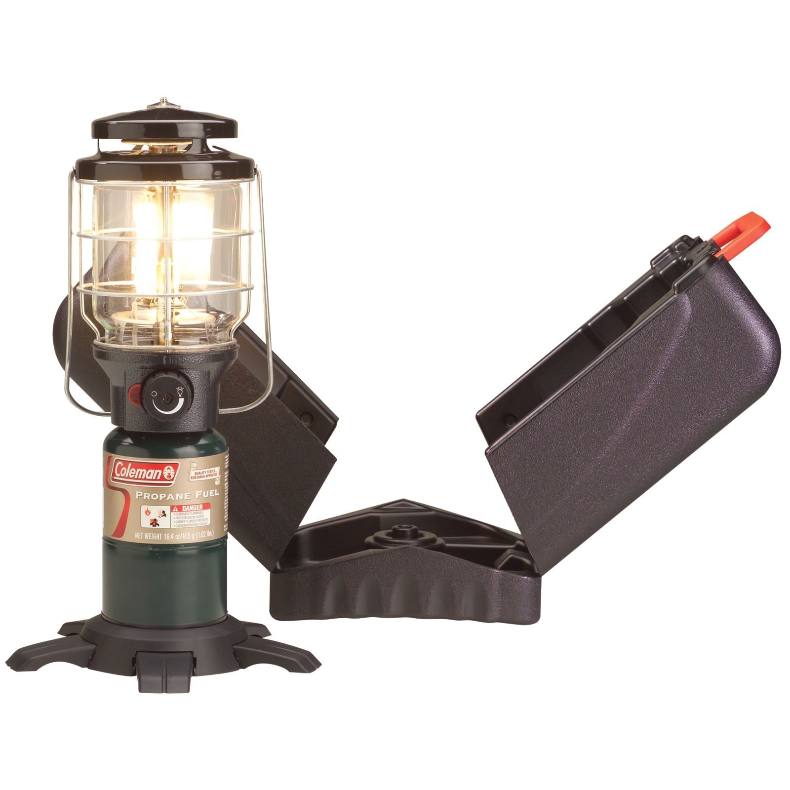 Coleman Northstar PerfectFlow Instastart Propane Lantern with Hard Carry Case