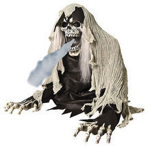 Animated Grim REAPER FOG ACCESSORY Halloween Prop - $93.14