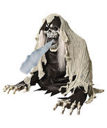 Animated Grim REAPER FOG ACCESSORY Halloween Prop - £74.14 GBP