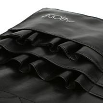Black Two Arrays Makeup Brush Holder Professional Bag Artist Belt Strap Protable image 4