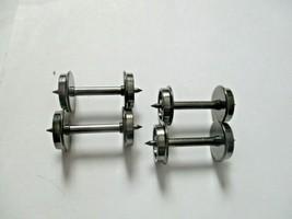 "Rapido # 102086-4 Wheels Metal 36"" (Code 110) Length 1.015""  4 Pack HO Scale image 1"